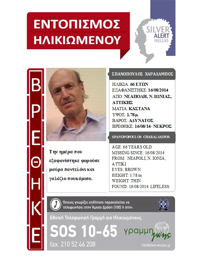 FOUND - SPANOPOULOS